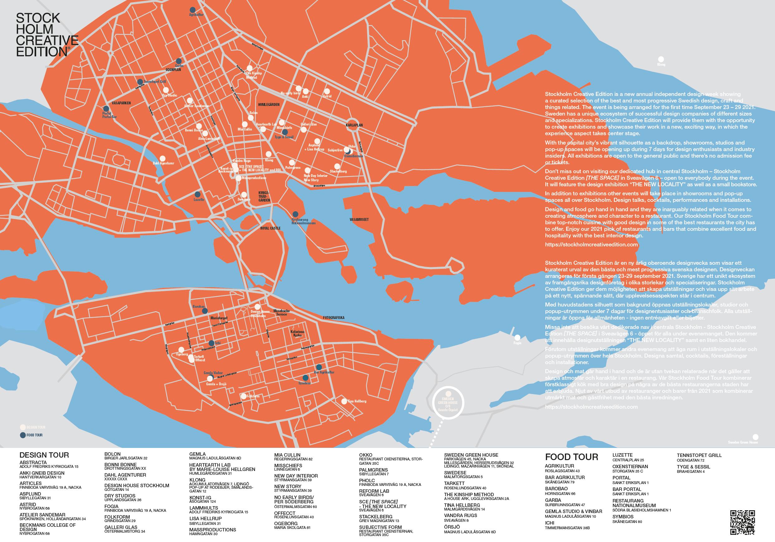 FoodTour Map